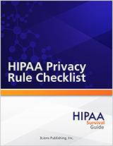 HSG-HIPAA-Privacy-Rule-Checklist
