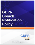 GDPR Breach Notification Policy 8030