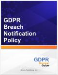 GDPR Breach Notification Policy 8030