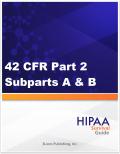42 CFR Part 2 A&B